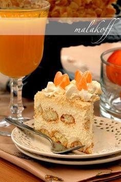 Malakoff - austriacki tort migdałowy