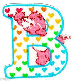 ❤️Care Bears and Friends ~ The Letter B