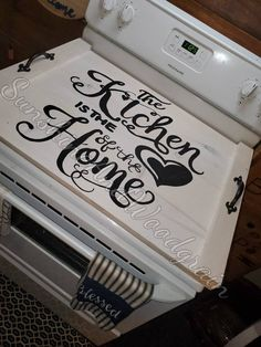 Your place to buy and sell all things handmade Stove Top Cover, Stove Covers, Stain Pine, Wood Projects, Woodworking Projects, Stove Board, Noodle Board, Wood Front Doors, Wood Creations