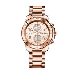 If you like keeping up with the latest fashion and accessory trends, buy Ladies' Watch Thomas Sabo at the best price. Gender: Lady Type of movement: Quartz Diameter of the box: 40 mm Watch face colour: Rose gold Bracelet material: Stee Thomas Sabo Bracelet, Rose Gold Watches, Michael Kors Watch, Watch Bands, Sale Items, Chronograph, Cool Things To Buy, Tommy Hilfiger, Quartz