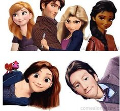 Disney Meets Doctor Who.
