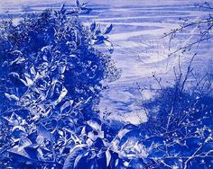 #MarkTansey, Apple Tree, 2008-2009, Oil on canvas,  79 1/2 x 100 inches,  Collection of the Museum of Fine Arts, Houston   Follow #MarkTansey Pins on Pinterest, curated by Joseph K. Levene Fine Art, Ltd. | JKLFA.com | http://pinterest.com/jklfa/mark-tansey/