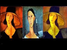 Modigliani Portraits for Kids - YouTube