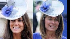 Carole Middleton  proud mum  recycled the hat
