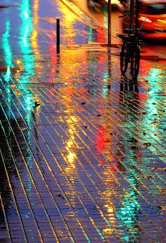 Streetlights, rainlights.
