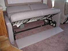 Replace Original Camper Sofa With A Sofa Bed From Ikea Rv Stuff