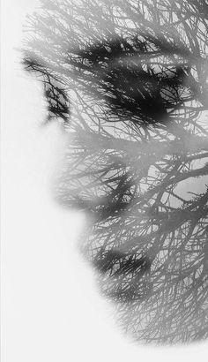 Nelle trasparenze della natura, chiudendo gli occhi, vedevo te.