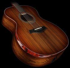 Taylor Custom Shop Grand Auditorium Acoustic/Electric Guitar ...