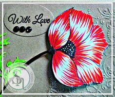 Designed by Laine.  Spectrum Noir Sparkle Markers - Floral A closer look at sparkle detail. Spectrum Noir Sparkle Spring-Summer 12pc: Moonlight, Solar Red,Crystal Clear. Spectrum Noir Sparkle Autumn-Winter 12 pc: Red Berry, Holly Leaf, Harvest Moon. #spectrumnoir #sparkle #crafting