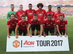 Manchester United, (US Tour July 2017)