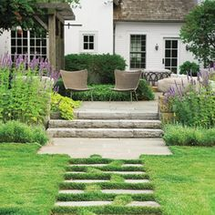 Janice Parker Transforms a Family's Backyard into a World of Its Own is part of home Garden Design - When you walk outside this Connecticut home, you feel the magic Large Backyard Landscaping, Country Landscaping, Landscaping Tips, Landscaping Melbourne, Luxury Landscaping, Landscaping Software, Home Garden Design, Patio Design, Jardin Decor