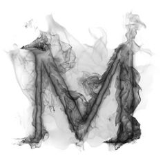 Free Smoke Letter M Wallpaper - Download The Free Smoke Letter M... ❤ liked on Polyvore
