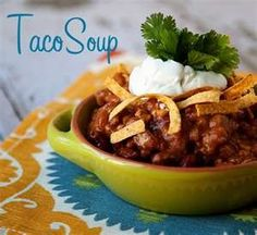 Taco soup recipe: Easy crockpot soup recipe - Raleigh Food | Examiner.com