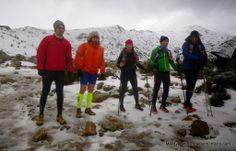 mayayo oxigeno: Rutas por La Pedriza: Zetas de Pedriza invernal (28k/D+900m) Salida con #Cercedillatrailers