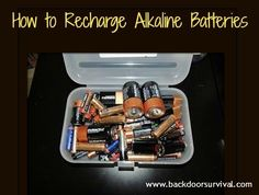 Did you know that you can recharge alkaline batteries? All you need is the right type of alkaline battery charger in order to give new life to your dead batteries.