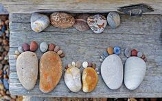 A rock-foot family. :0)