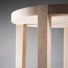 #Wooden #stool #proto, #design by Tuula Falk. Made by Yosk professionals.  #yoskfi #jakkara #puinen #puu #wood #woodcarving #koristeveisto #veisto #carving #furniture #huonekalu #kaluste