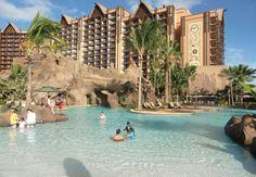 Aulani Resort on Ohau, Hawaii.  A PERFECT destination and accommodations for all the family!  ASPEN CREEK TRAVEL - karen@aspencreektravel.com