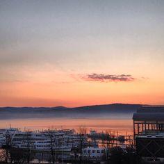 Poco dopo l'alba - Lago Maggiore