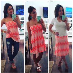 Wearing an Azure as a top, dress, and skirt!