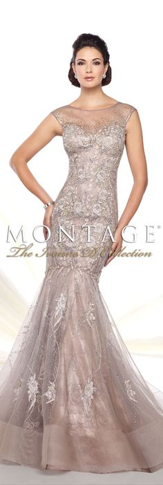 Montage The Ivonne D Collection Spring 2016 - Style No. 116D25 #eveninggowns