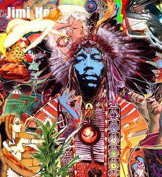 Jimy Hendrix art  https://www.youtube.com/watch?v=4QRrvnEZehs
