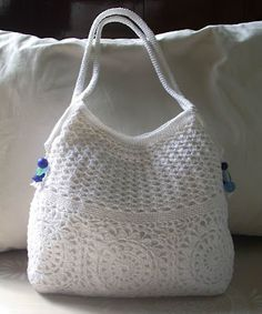 Bags on Pinterest Crochet Handbags, Crochet Clutch and Crochet Bag ...