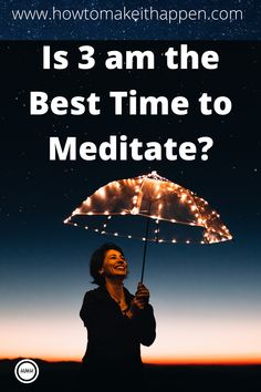 Is 3 am the Best Time To Meditate? When to meditate? 3 am meditation is said to be special, some even say it is the BEST time to meditate. Is this true? Meditation Practices, Mindfulness Meditation, Spiritual Health, Mental Health, Love Is Comic, 3 Am, Meditation For Beginners, Feeling Happy, How To Better Yourself
