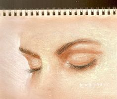 Quiet Eyes....  One of my pastel drawings that inspires me to not give up