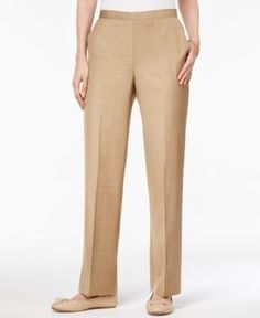 48dd18de949 Alfred Dunner Petite Pull-On Pants   Reviews - Pants   Capris - Petites -  Macy s