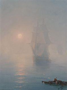 The Rescue, 1890, Ivan Konstantinovich Aivazovsky