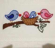 Kanaviçe - Canım Anne, You can cause very unique styles for fabrics with cross stitch. Cross stitch versions may almost surprise you. Cross stitch beginners could make the versions they want without difficulty. Cross Stitch Quotes, Cross Stitch Letters, Cross Stitch Bird, Cross Stitch Borders, Cross Stitch Samplers, Modern Cross Stitch, Cross Stitch Flowers, Cross Stitch Embroidery, Funny Cross Stitch Patterns