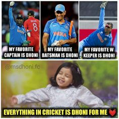 Everything Even I watch cricket because of mahi India Cricket Team, Cricket Sport, Ms Doni, Ziva Dhoni, Ms Dhoni Photos, Dhoni Quotes, History Of Cricket, Ms Dhoni Wallpapers, Cricket Quotes