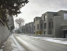 Miller & Maranta . Patumbah Park residential buildings . Zurich  (1) Miller Maranta, Ancient English, Villa, Student House, Social Housing, Dom, Art And Architecture, Home Projects, Exterior Design