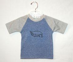 Newborn Whale Tshirt handmade infant baby blue gray by yorkpatty. $22.00, via Etsy.