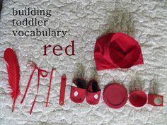 itty bitty love: a bag of red treasures