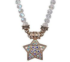 kirks folly starlight express beaded magnetic necklace