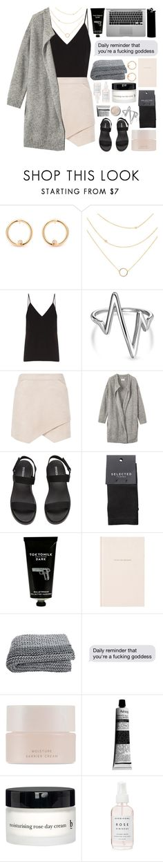 """""""The freedom land of the seventies"""" by angeline-wonderwall ❤ liked on Polyvore featuring Terre Mère, Raey, Bling Jewelry, BCBGMAXAZRIA, Toast, SELECTED, TokyoMilk, Kate Spade, SUQQU and Aesop"""