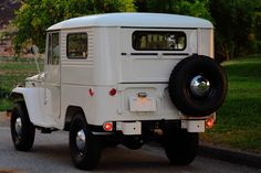 Amazing restoration and a great story!!!1962-toyota-land-cruiser-fj40-restored-white-rare-4×4-y | Land Cruiser Of The Day!