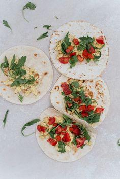 Tortilla's met ei