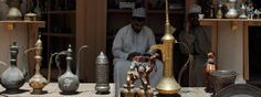 Traditional Souvenirs for sale at Nizwa Souk, Oman