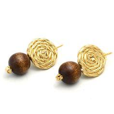 Diy Leather Earrings, Diy Earrings, Stud Earrings, Jewelry Trends, Boho Jewelry, Jewelry Box, Gold Jewellery Design, Homemade Jewelry, Jewelry Companies