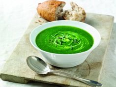 If it's good enough for Popeye, it's good enough for us! Get your vitamins with this healthy and hearty recipe for creamy spinach soup...