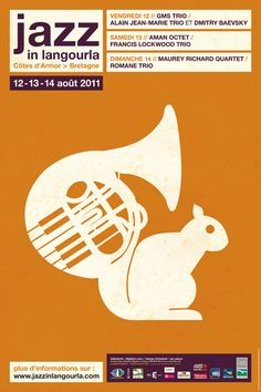 Jazz In langourla 2011, Visuel Eric Collet