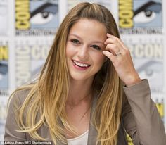 Ring of truth to it! Melissa Benoist was seen wearing a sparkler on her wedding finger on Sunday at Comic-Con in San Diego and it's emerged the actress secretly wed her Glee co-star Blake Jenner back in March