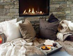 #fire #stone #cozy