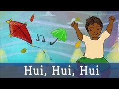 Hui Hui Hui - Ich bin der Wind - Lichterkinder | Kinderlieder | Laternen- und Herbstlieder - YouTube