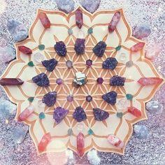 Crystal Magic, Crystal Grid, Crystal Healing, Healing Stones, Soul Healing, Modern Hippie Style, Hippie Chic, Hippie Masa, Hippie Fashion