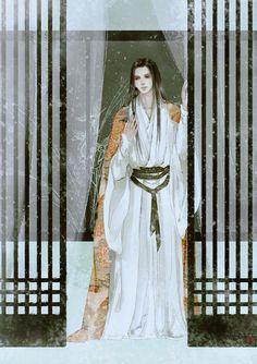 Manga Art, Anime Manga, Anime Art, Chinese Man, Chinese Style, Chinese Drawings, Handsome Anime, China Art, Wow Art