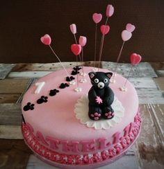Katjestaart voor Cathelijne Birthday Cake, Desserts, Food, Tailgate Desserts, Birthday Cakes, Deserts, Eten, Postres, Dessert